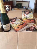 Eden arrives